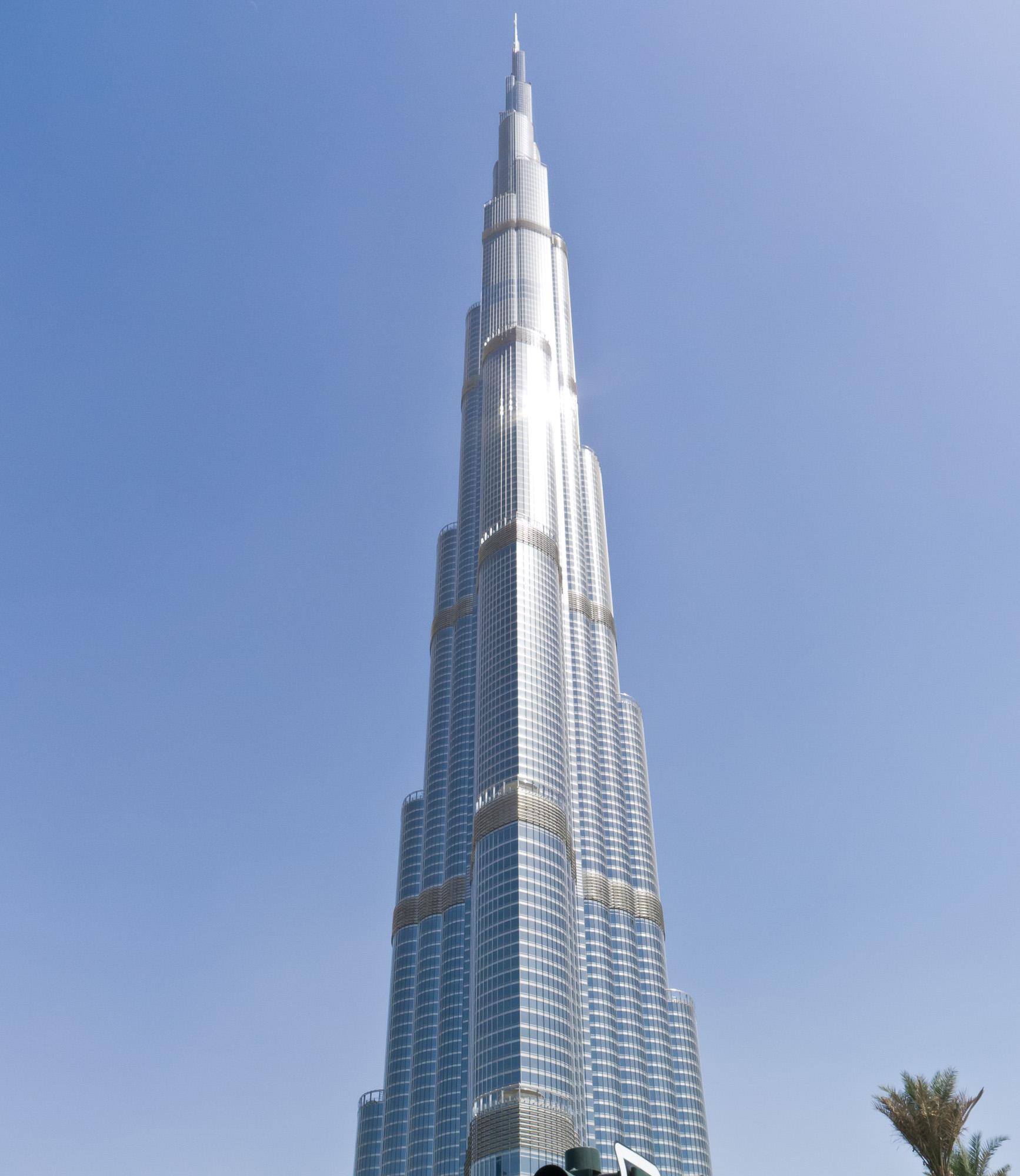 Burj Khalifa, world's tallest