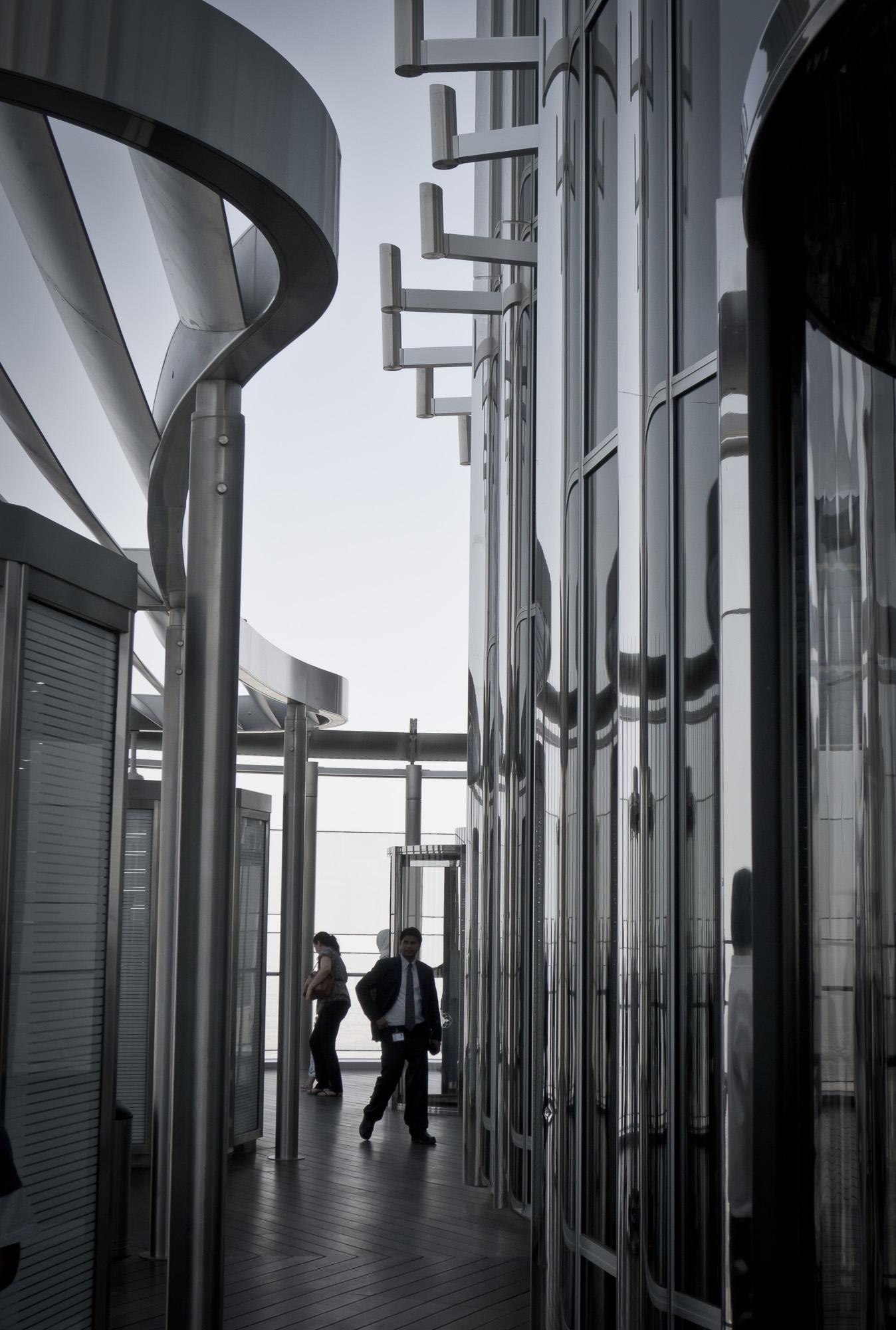 Burj observation deck