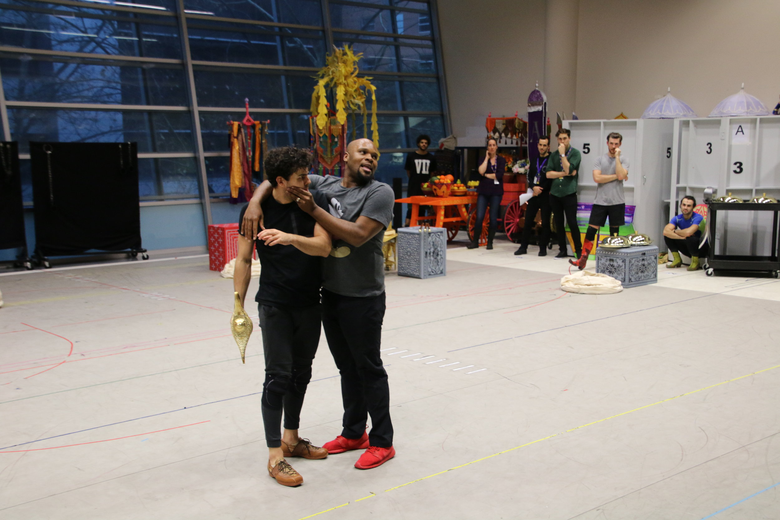 Aladdin The Musical - Rehearsal Process