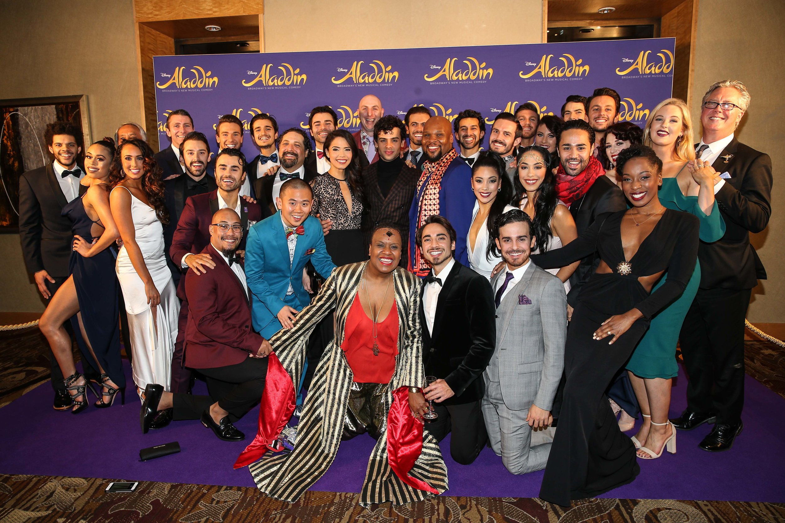 Aladdin The Musical - Opening Night
