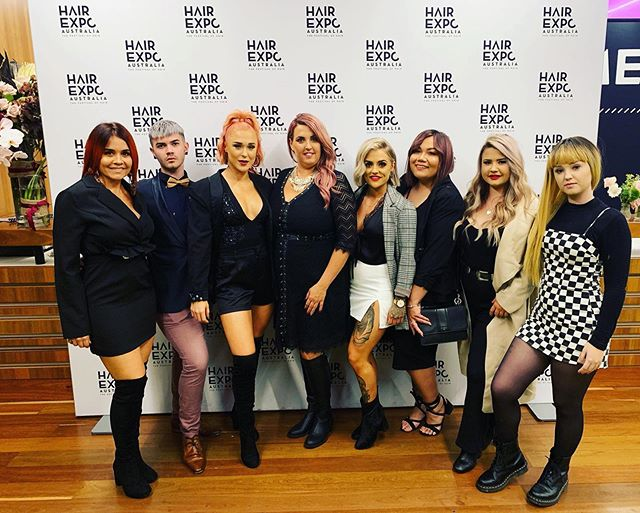 Hair Expo 2019 @hairexpo #sydneyhairexpo2019 Such a great experience! Team Game strong!