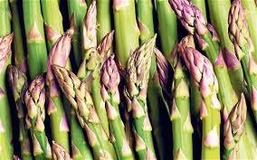 Asparagus - early summer - mid summer