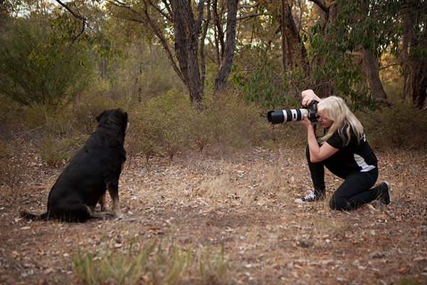 This is me taking photos at a beautiful spot in the Perth Hills