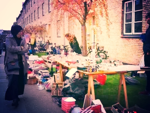 Neighbourhood Flea Market in Copenhagen