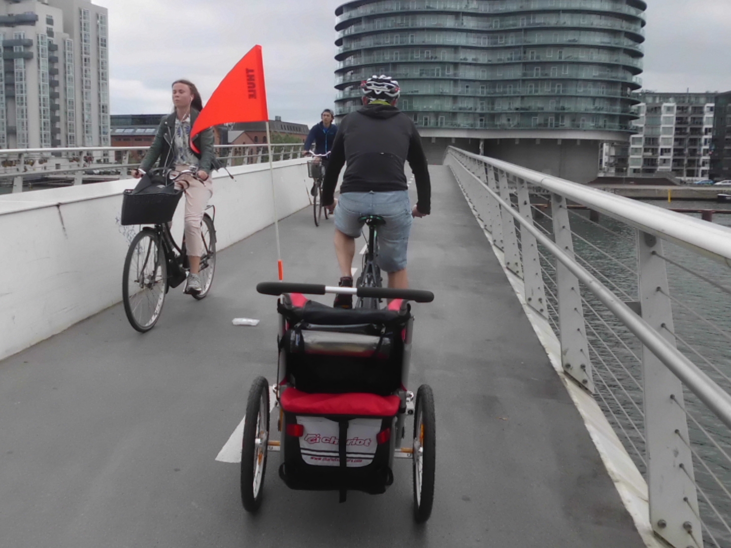 Cycling in Copenhagen with BBB