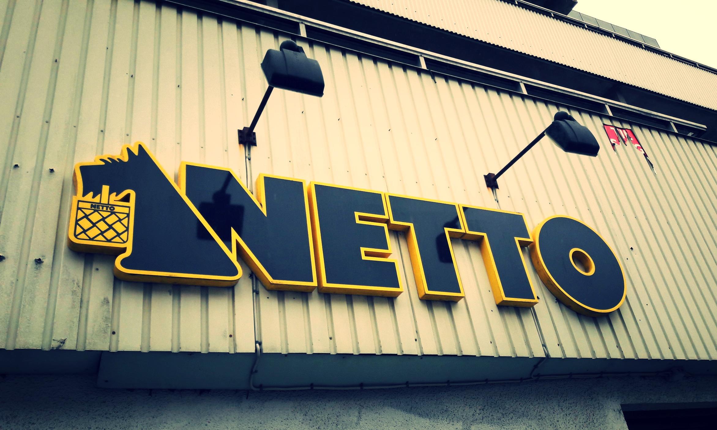 Naughty Netto.