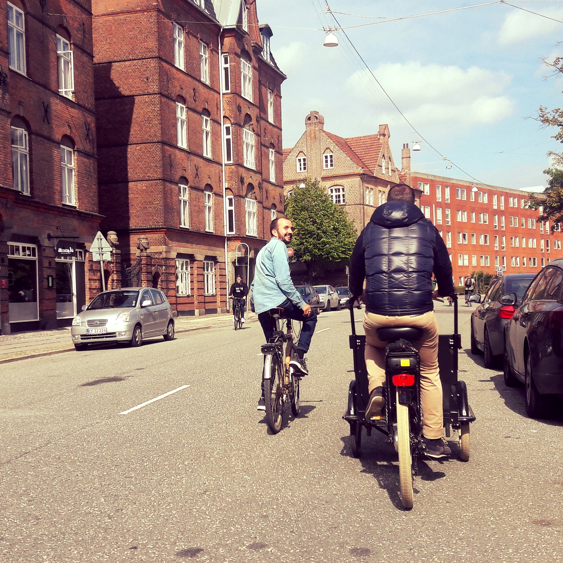 Getting to explore some of the everyday streets of Copenhagen