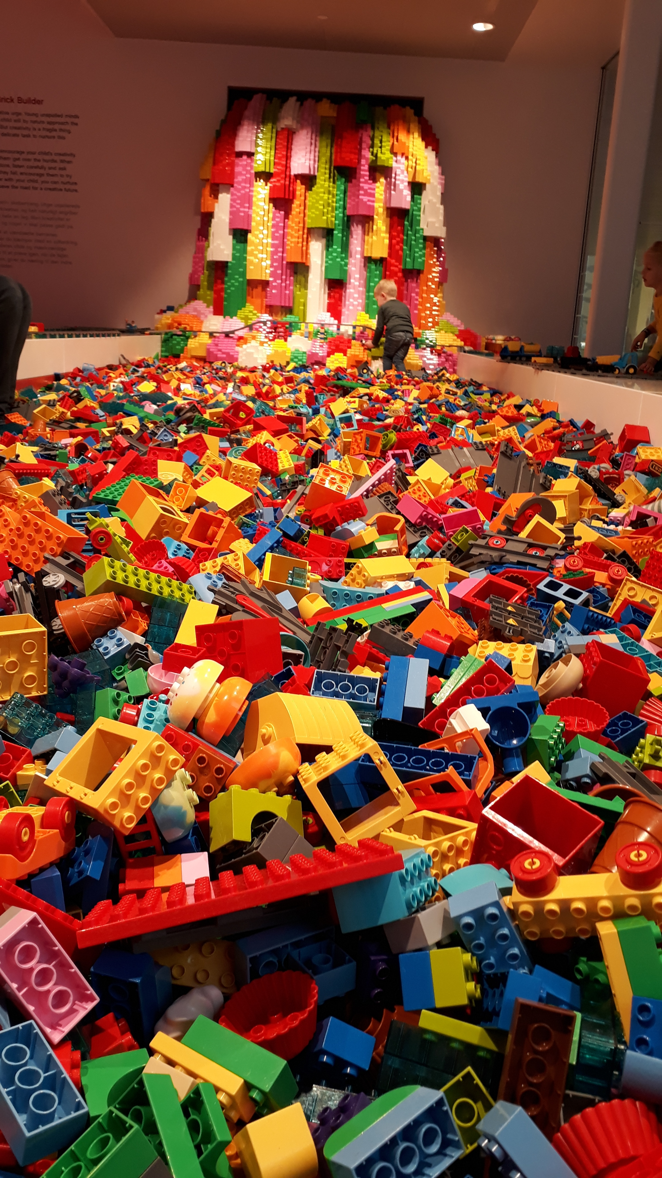 Just a fraction of the LEGO you'll discover inside
