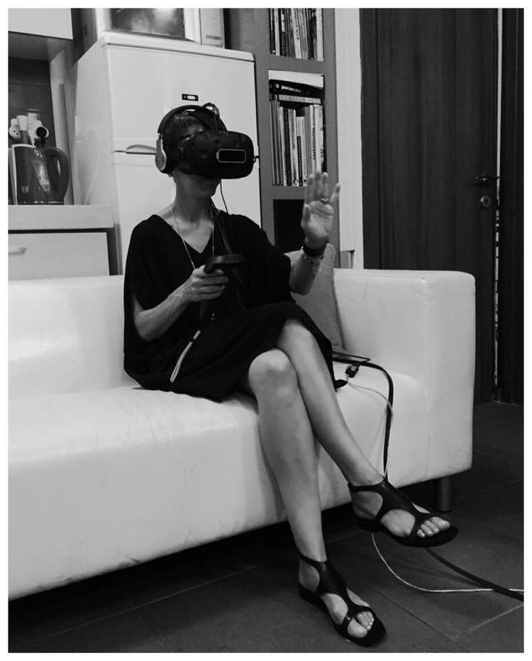 Office Tel Aviv – testing some new content on HTC Vive