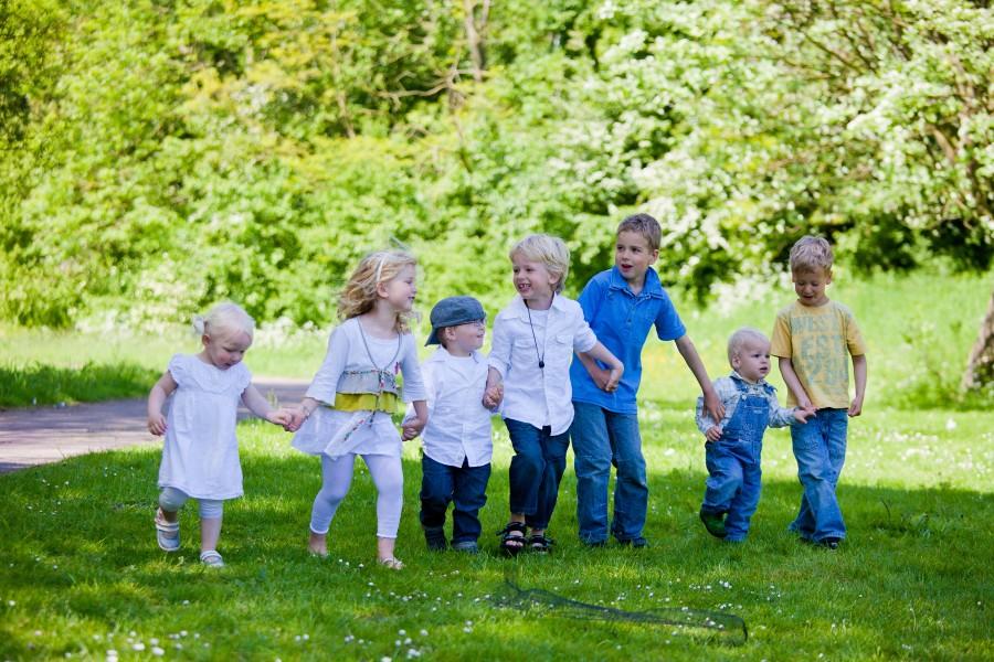 familiefotografie in het park