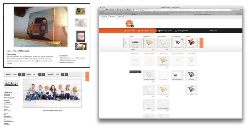 foto op hout fotogeprint bestelsysteem