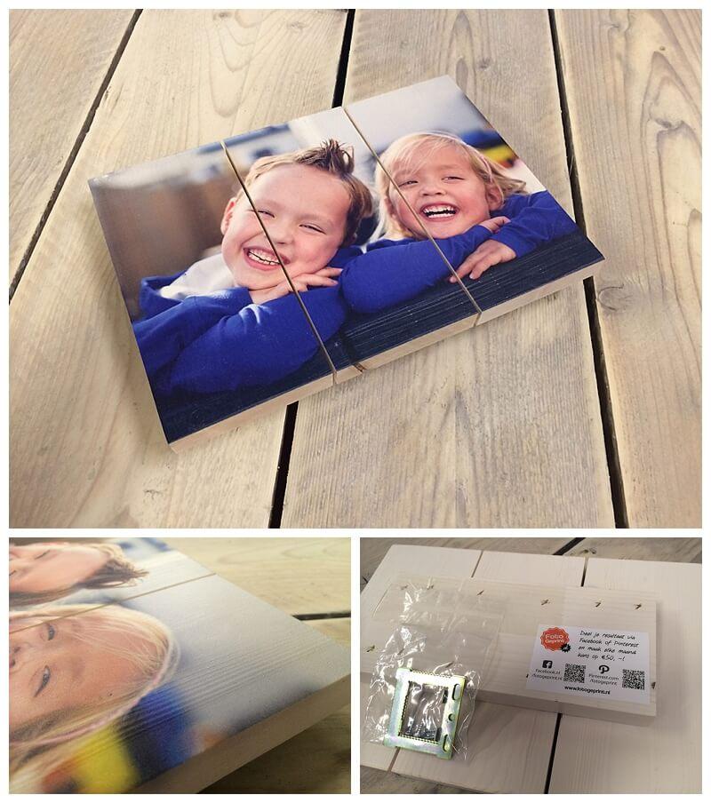 foto op hout fotogeprint het resultaat