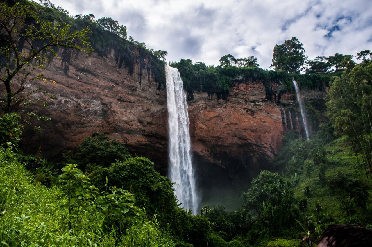 Sipi Falls, Kapchwora:where the abseiling happened. Photo credit: Andrew Pacutho