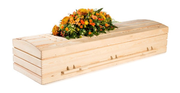 Pine Casket - Available from thinkwillow.com