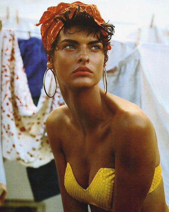 Linda Evangelista | Vogue Italia