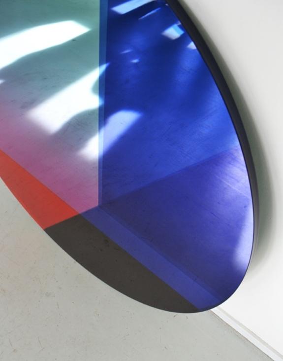 SABINE MARCELIS & BRIT VAN NERVEN | SEEING GLASS BIG ROUND MIRROR