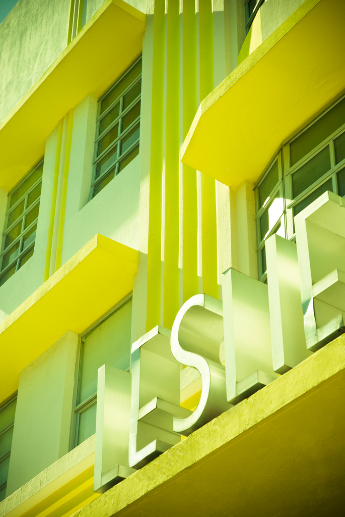 Leslie Hotel in Miami Beach • Photography by Adam Sherbell
