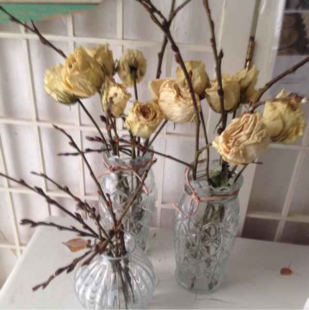 Vaser til blomsten