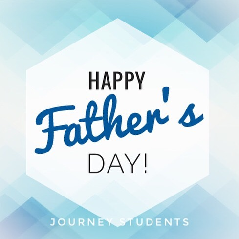 🔷Happy Father's Day🔷  We wish all our Journey Fathers, Grandfathers, Volunteers and Teachers a Happy Father's Day 💙 #journeystudents #fbcbremen #happyfathersday
