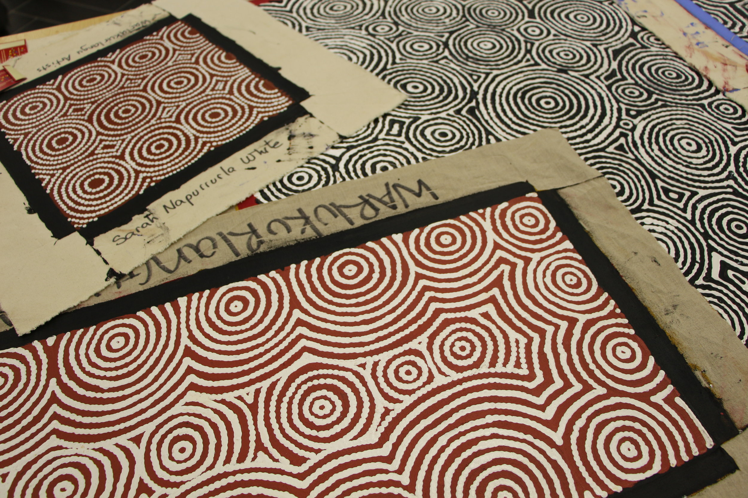 Bay Gallery Home, My Country, Australian Aboriginal Art and Interiors Wallpaper, Tiles & Rugs