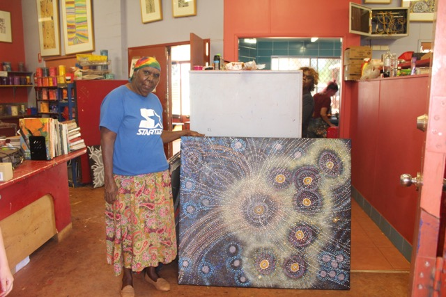 On our visit in Easter we caught up with Alma who shared her recent works with us.