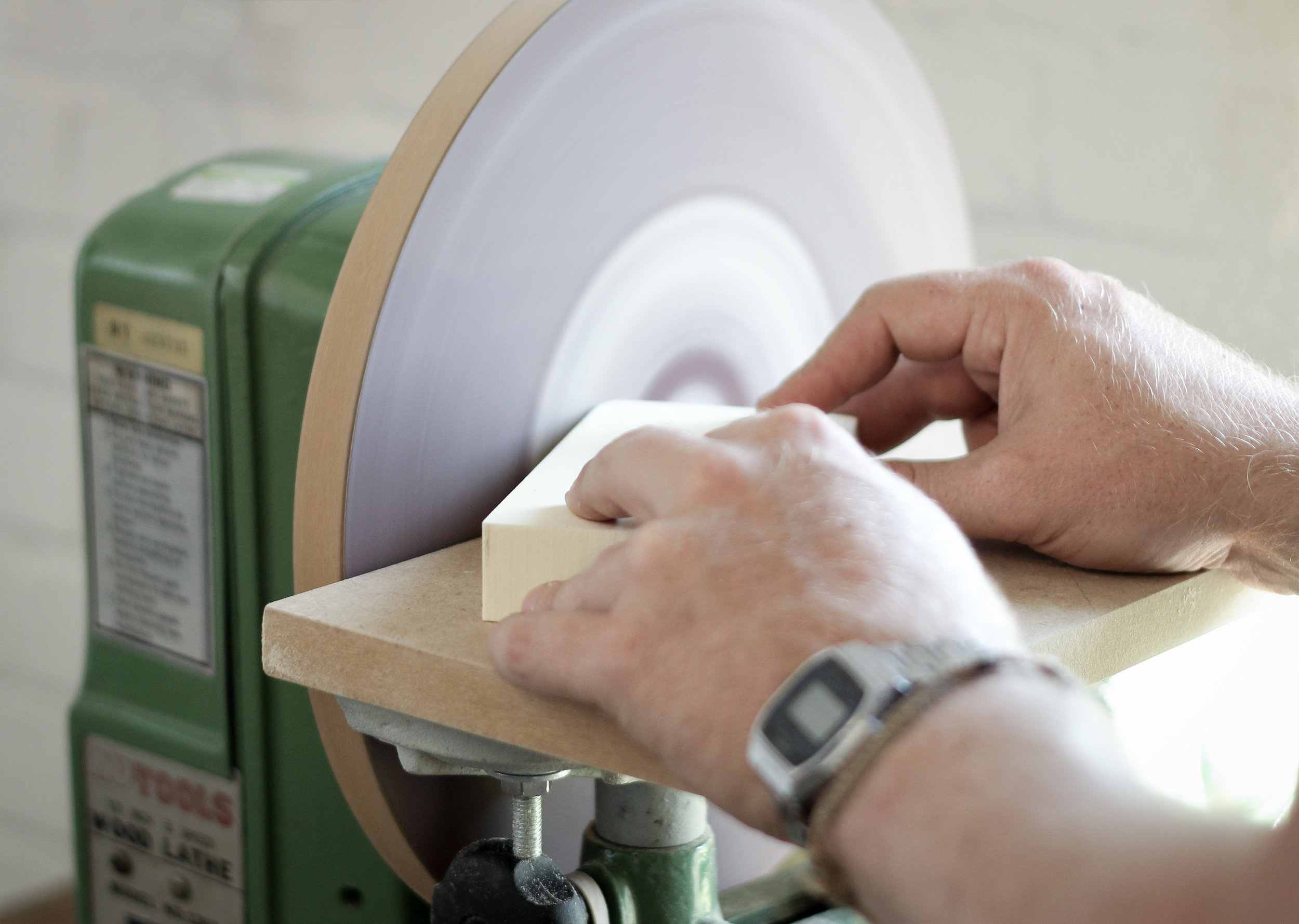 Production of foam prototypes in fully equipped workshop