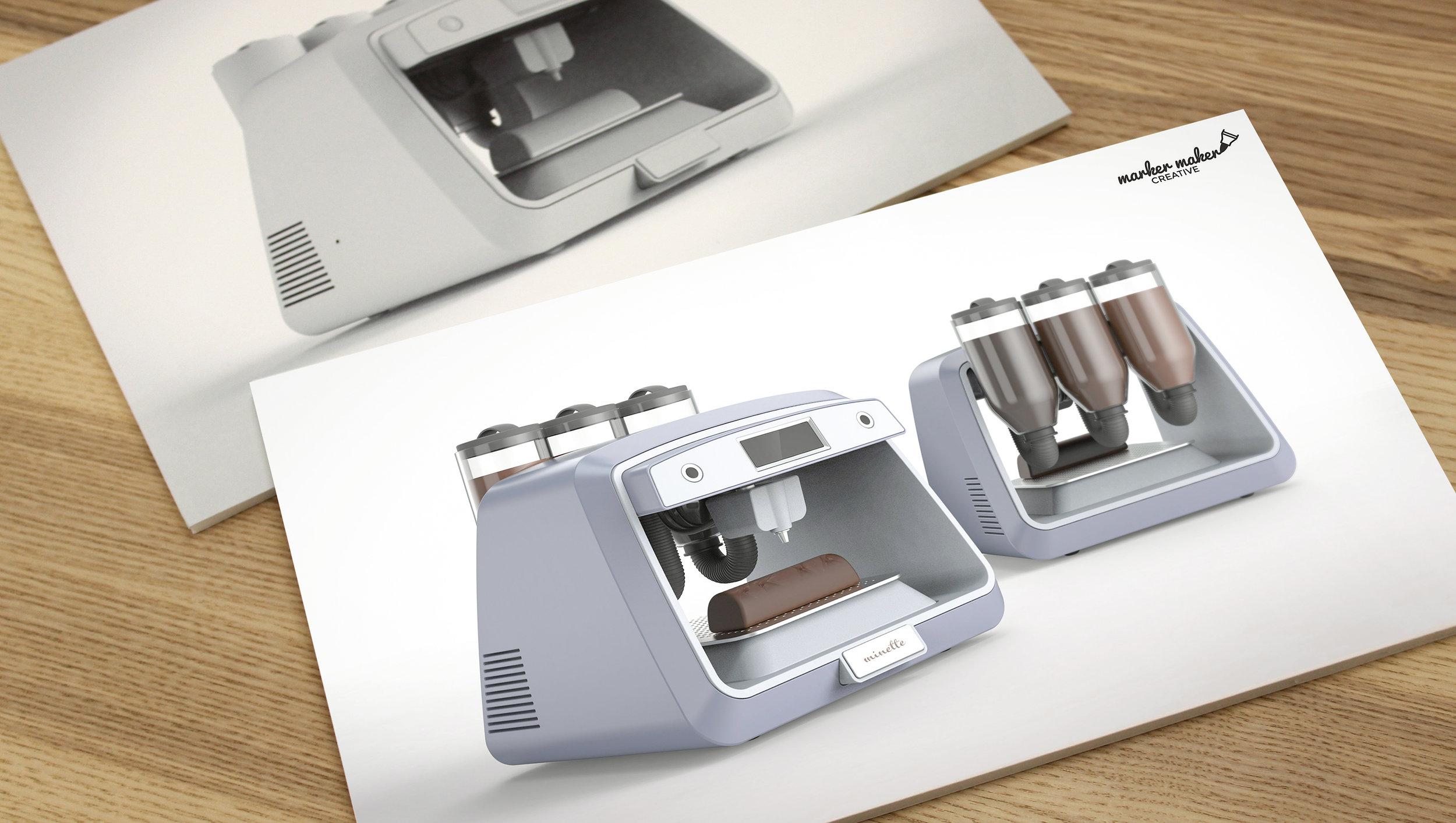 Photorealistic Rendering - Industrial design concept
