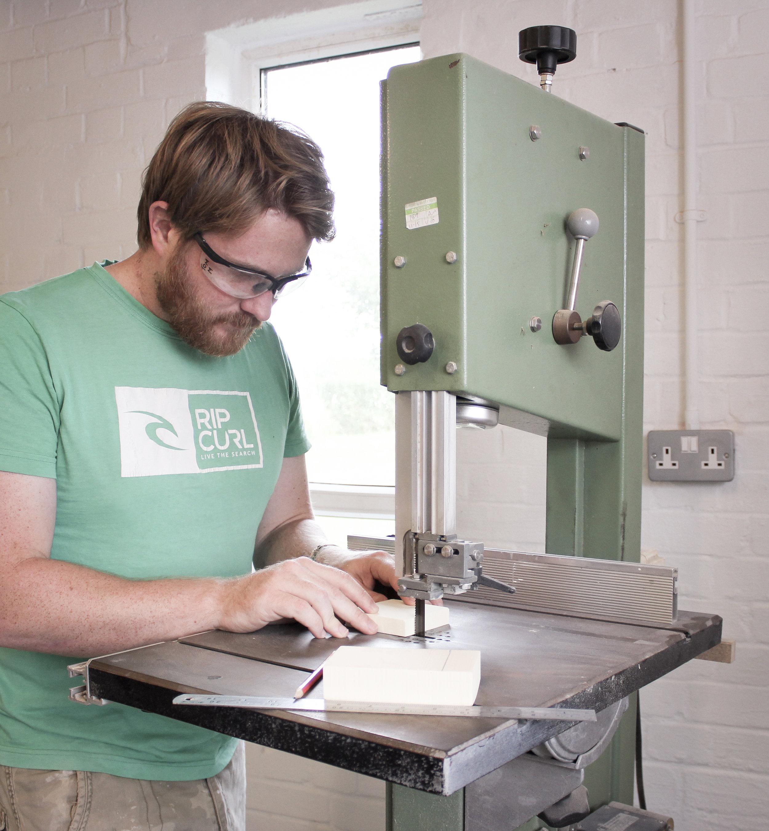 Product Design Bristol - Foam Prototyping
