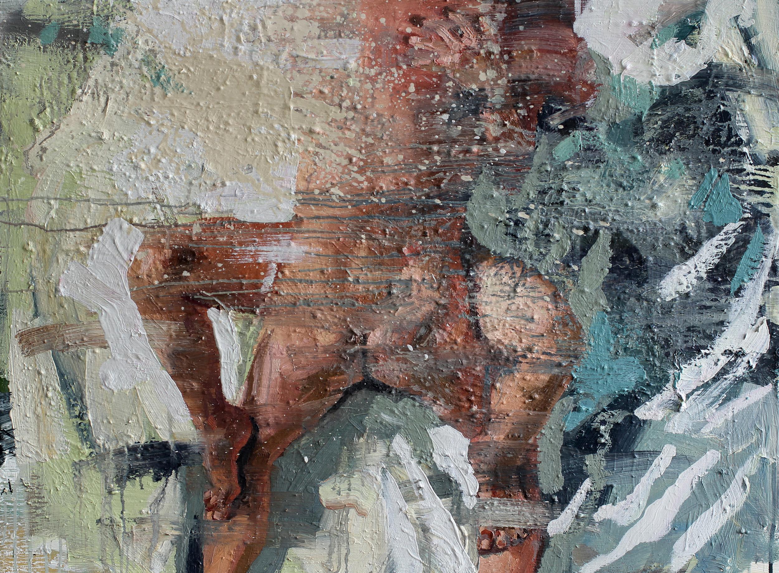 Soveromsmaleri | 85x115 cm | Eggolje på lerret | Privat eie
