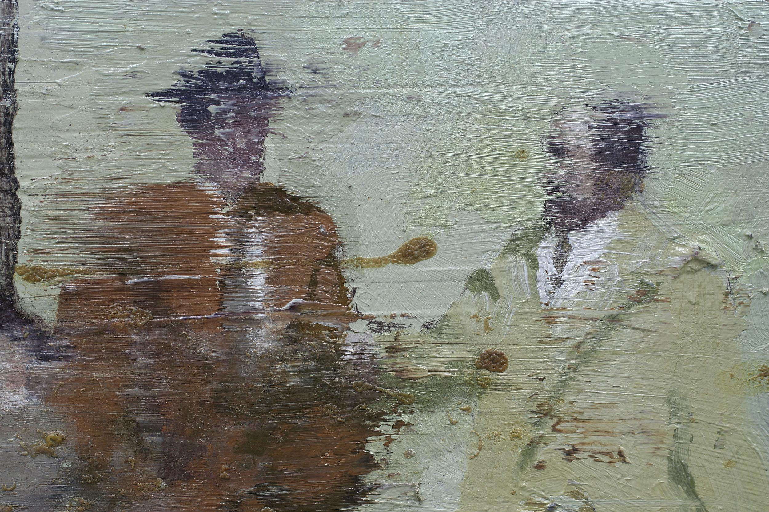 17. mai 1969 (utsnitt) | 70x70 cm | Eggoljetempera på lerret | Privat eie