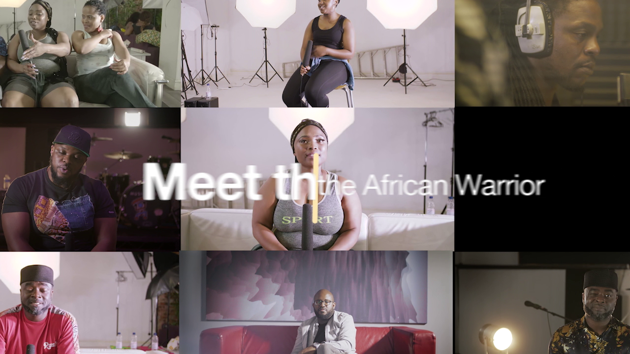 BIMBI PHILIPS  [AFRICAN WARRIOR] VIDEO CAMPAIGN