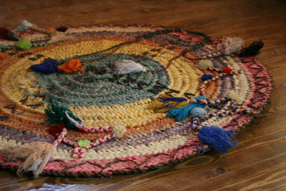 Siwan wedding mat handicrafts