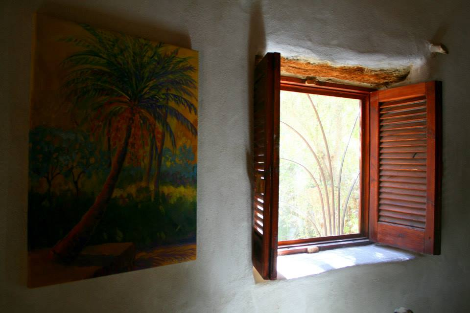 Ecological house window