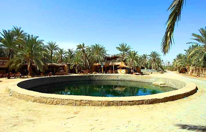 Juba Spring Siwa Oasis Cleopatra Bath