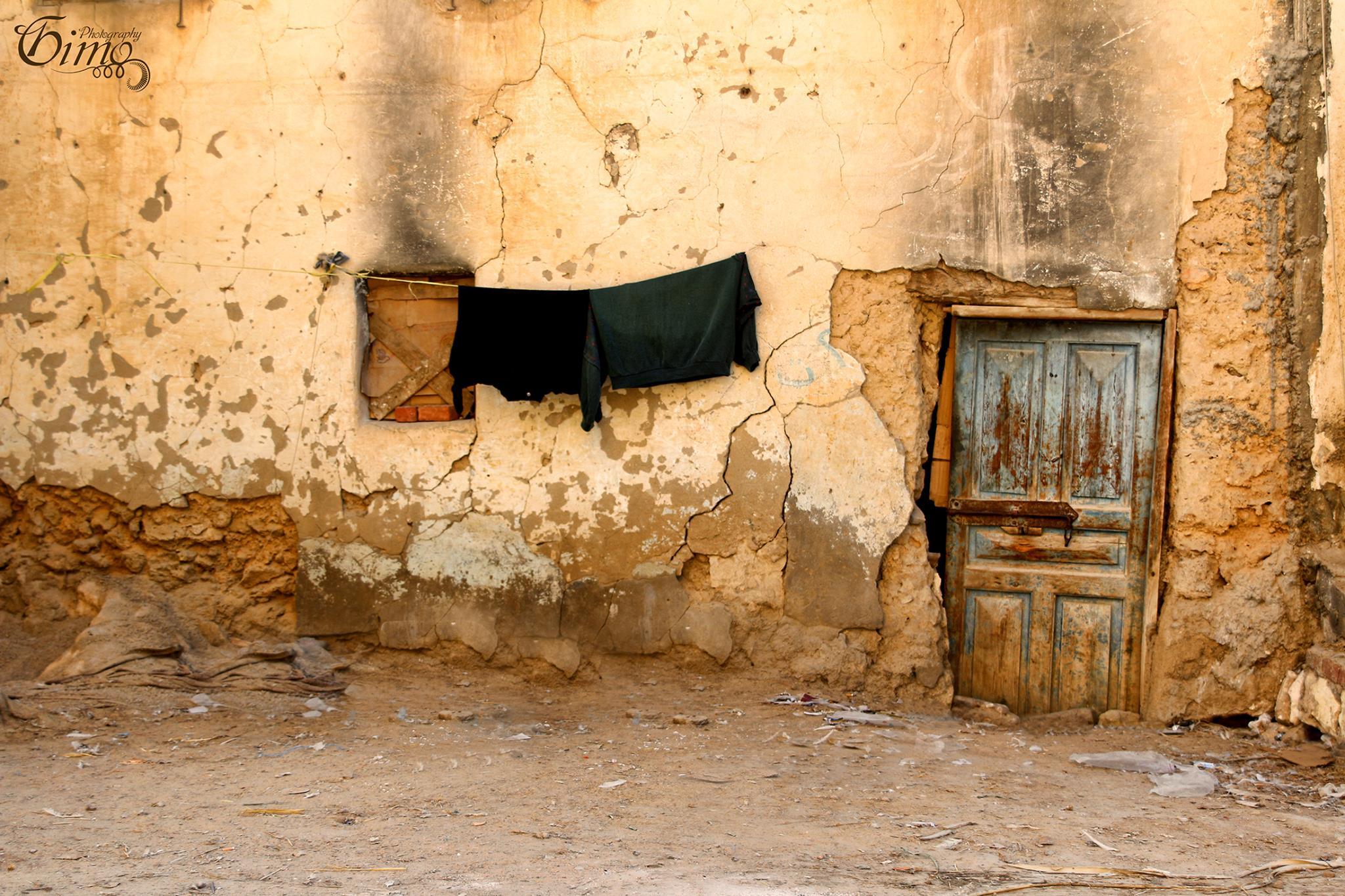 Mud houses in Siwa