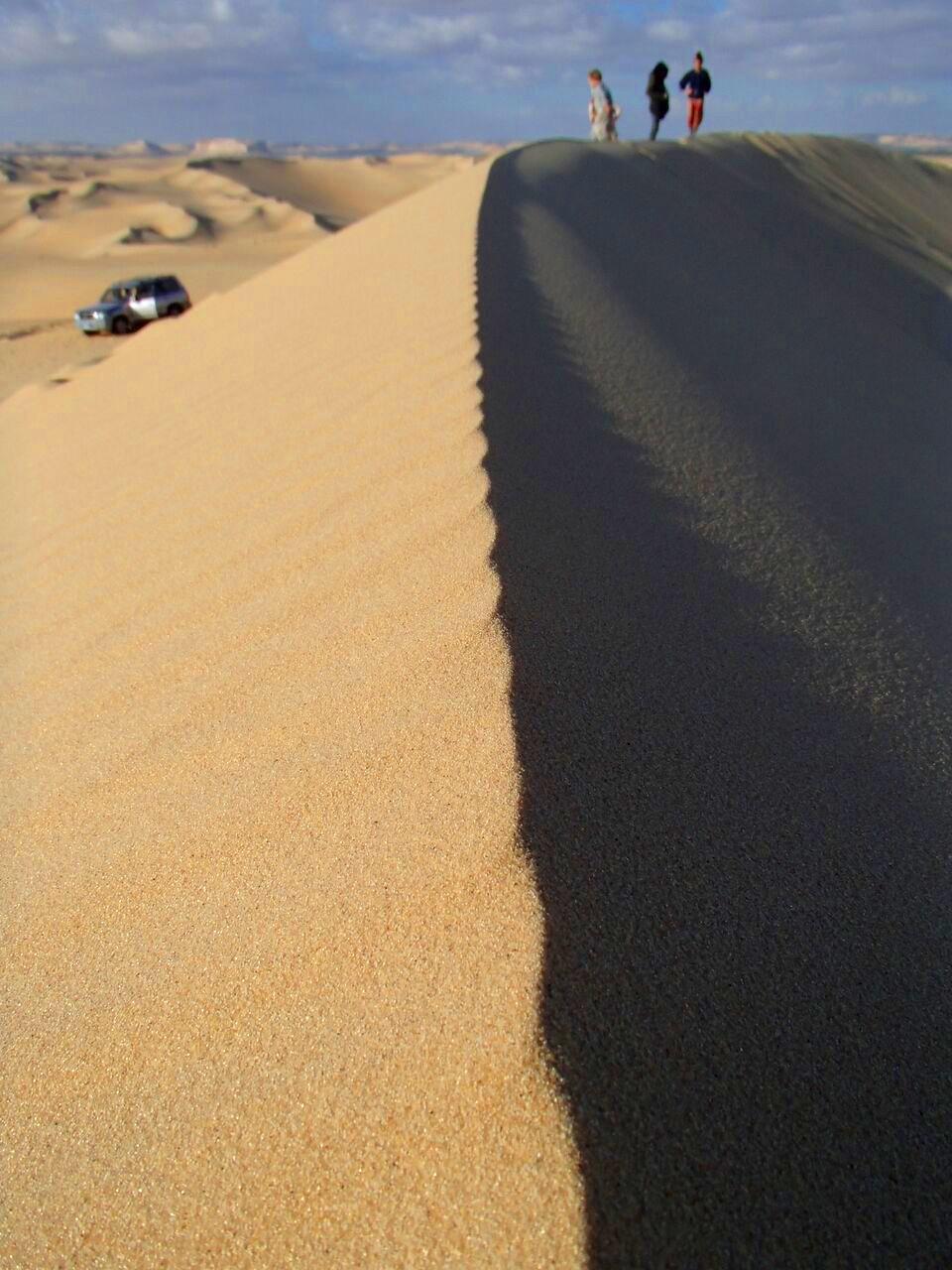 Sand dunes of Siwa Oasis