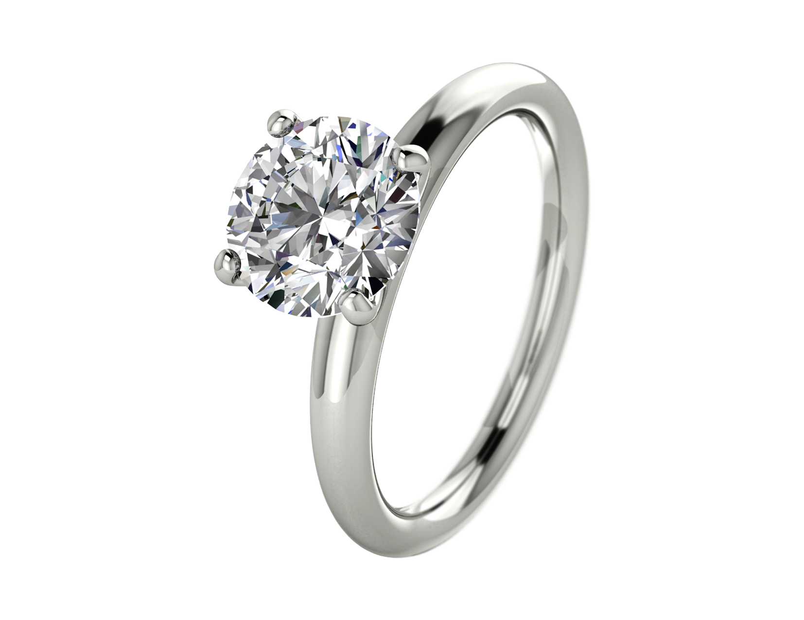 Solitaire Enagement Ring