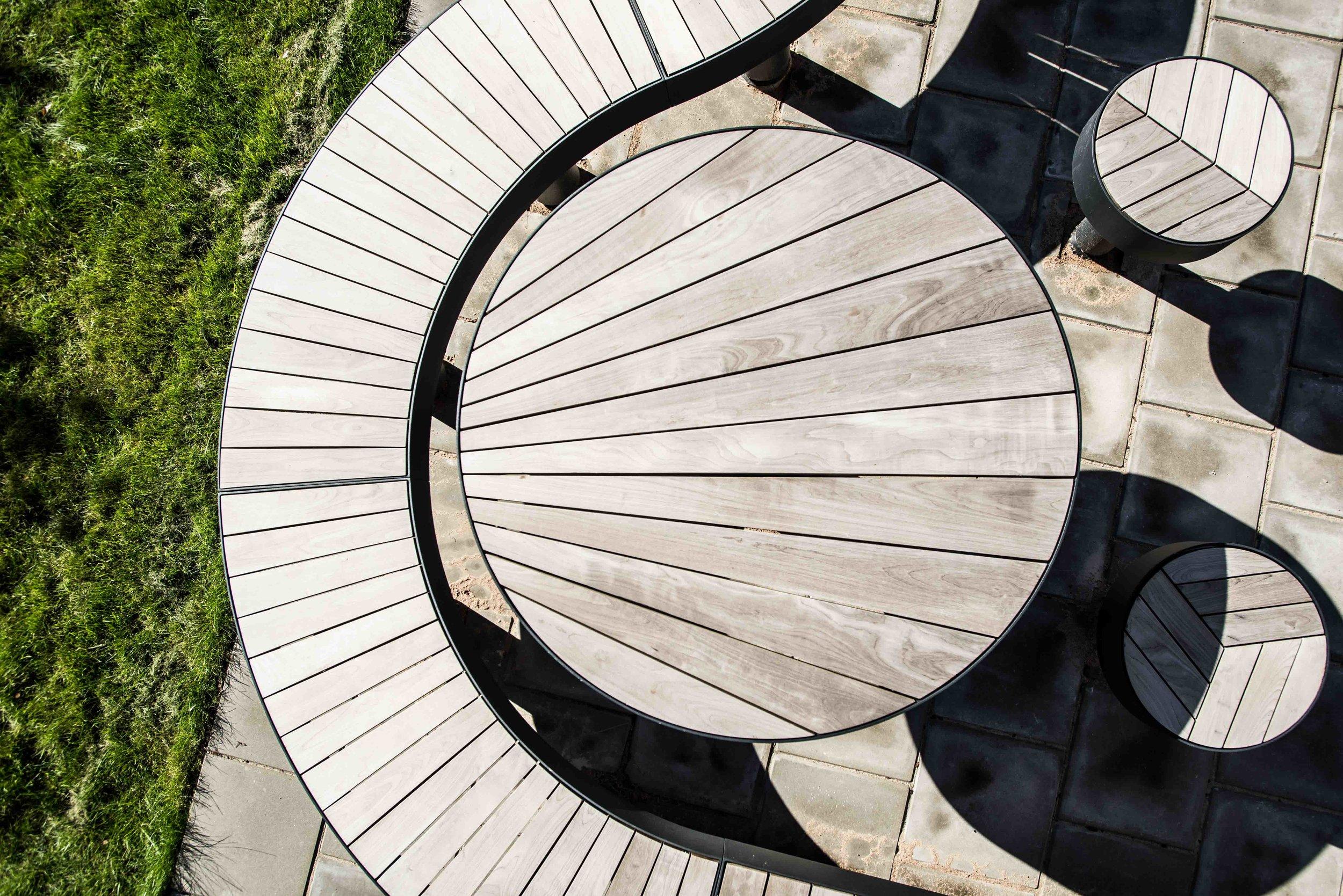 Bänk, bord & pallar offentlig miljö