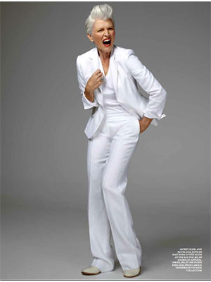 Maye Musk, a new face of CoverGirl, in a recent issue of New York Magazine.