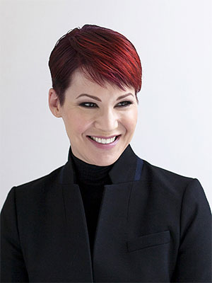 Amanda McIntosh, founder and CEO of  Take My Face Off