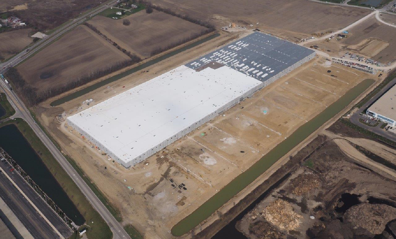 One million sq ft distribution center - Obetz, OH