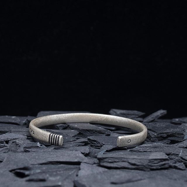 The HÔMAGE Rimfrost.  100% recycled silver, finished by hand in Sweden.  #RÔKA #HÔMAGE #SWEDEN