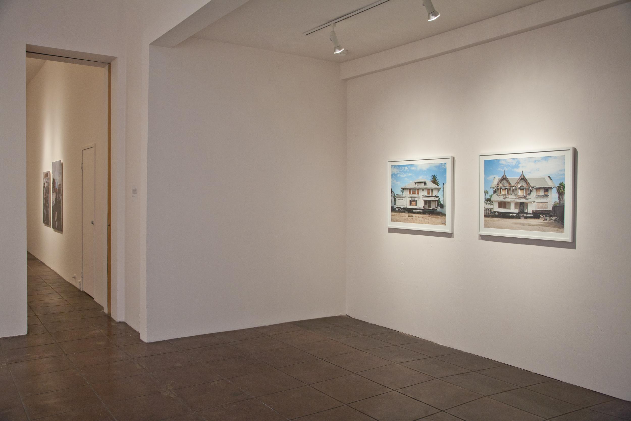 2012, Saudade , gallery installation, Ann 330 Gallery, Los Angeles, CA