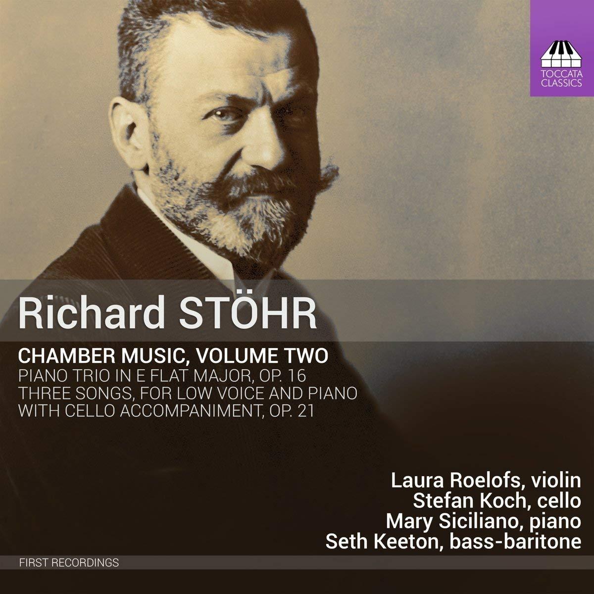 Richard Stöhr: Chamber Music, Vol. 2 -
