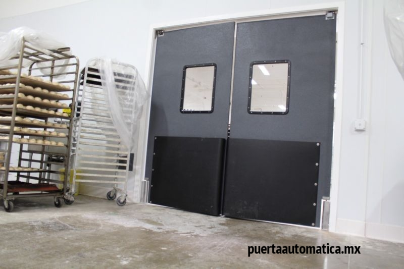 puerta de alto impacto retail puertaautomatica.mx