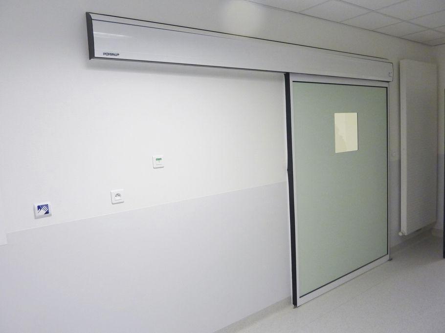 puerta hermetica automatica para hospitales portalp mexico puertaautomatica.mx