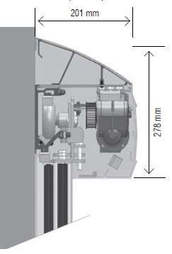cabezal antipolvo portalp sensor puerta automatica hermetica puertaautomatica.mx