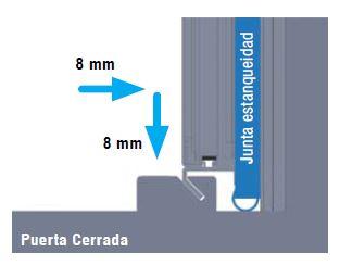 puerta hermetica cerrada portalp mexico puertaautomatica.mx