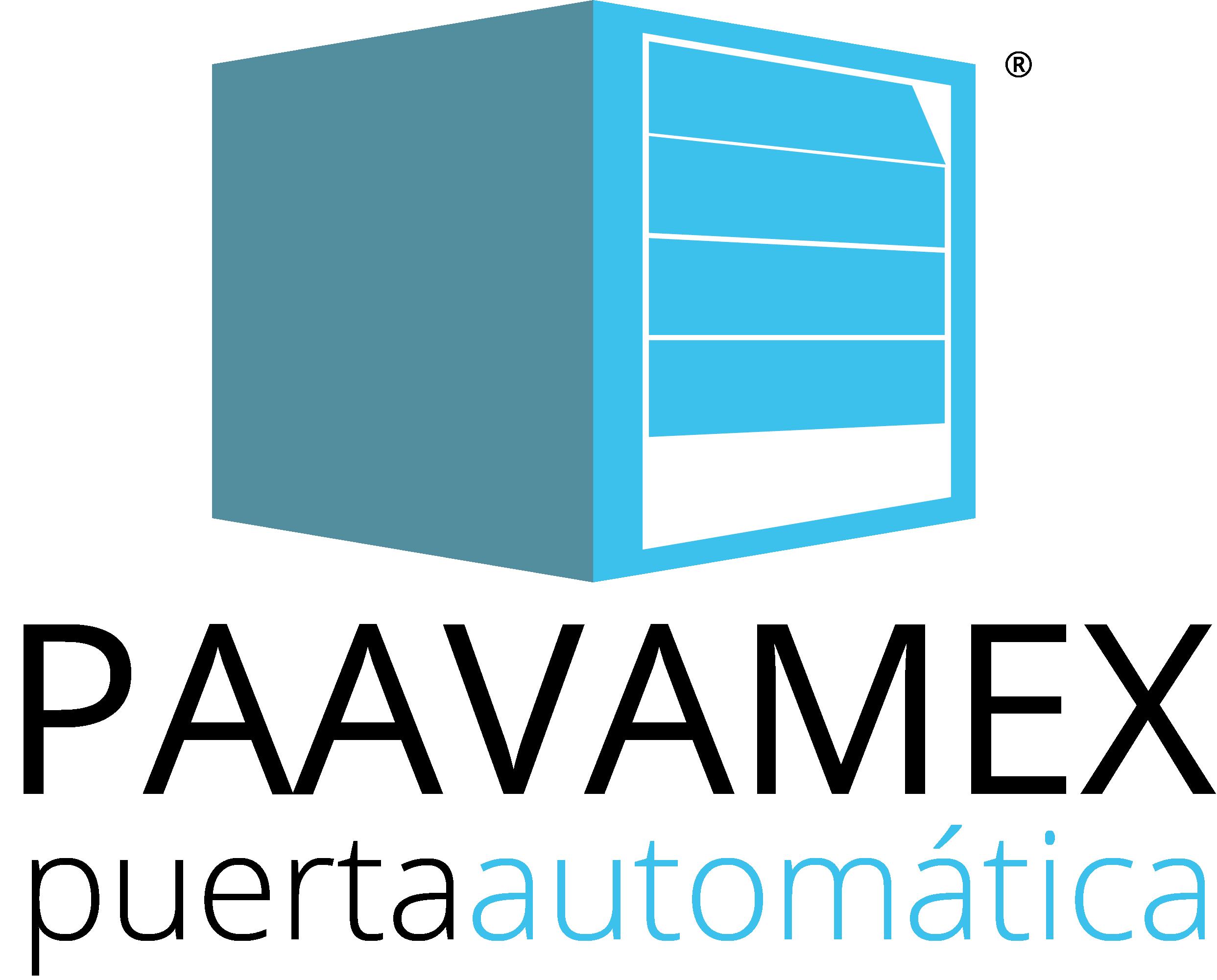 PAAVAMEX logo puerta automatica