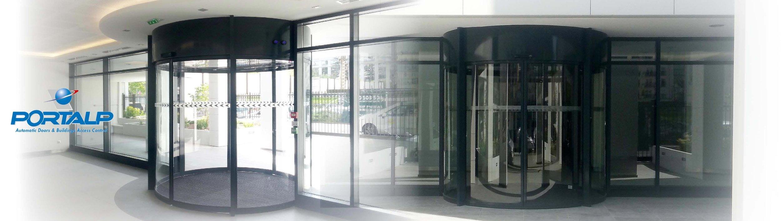 puertas automaticas de cristal templado